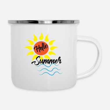 Sand Holidays - Hello Summer - Shirt - Camper Mug