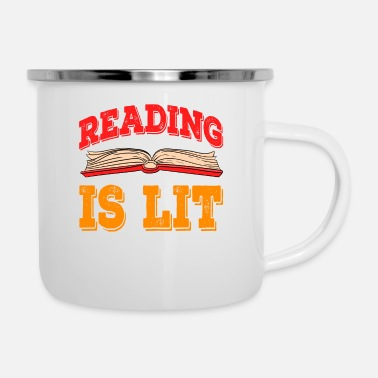 Bomb Looking for a nice gift to your bookworm friend? - Camper Mug