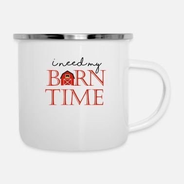 Pony I need my Barn time gift tee shirt - Camper Mug