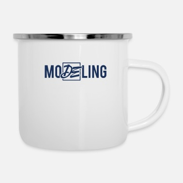 Model Modeling Fashion Top Model Model Catwalk Modeling - Enamel Mug