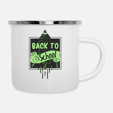 Back To School Back to school - Enamel Mug