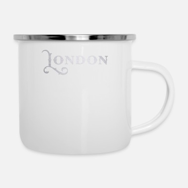 London Bestseller London city gift - Enamel Mug