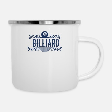 Billiard Table Billiard Table - Enamel Mug