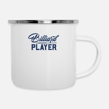 Billiard Table Billiard Table Billard Pool Billiard Billard Ball - Enamel Mug
