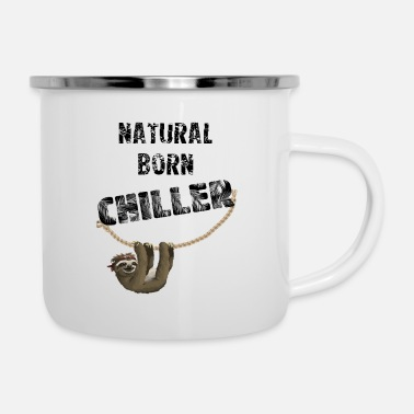 Natural Natural Born Chiller - Enamel Mug