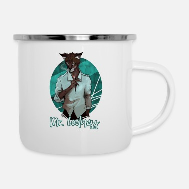 Mr. Coolness Ideal as a gift for man, father - Enamel Mug