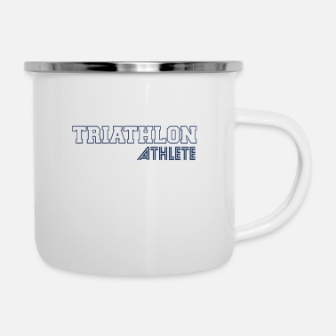 Triathlon Athlete Triathloner Triathlons Triathlon Sports - Enamel Mug