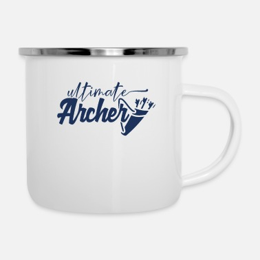 Arrow Archery Compound Bow Bow Archer Arrow - Enamel Mug