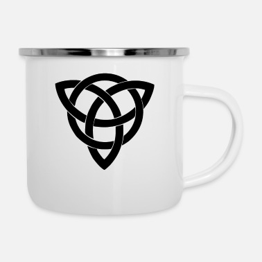 Celte Celtic symbol Celts Cross Nordic - Enamel Mug