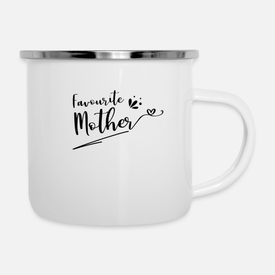 Mother's Day Mugs & Drinkware - Mother's Day Mother's Day Mother's Day - Enamel Mug white