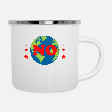 Change Climate Gift Environment Nature Warming Protection - Enamel Mug