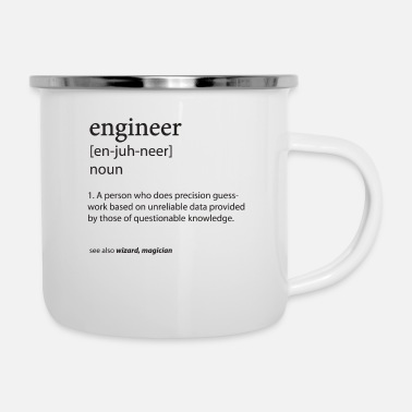 Engineer Engineer Definition - Enamel Mug