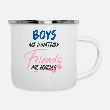 Girlfriend girlfriends - Enamel Mug