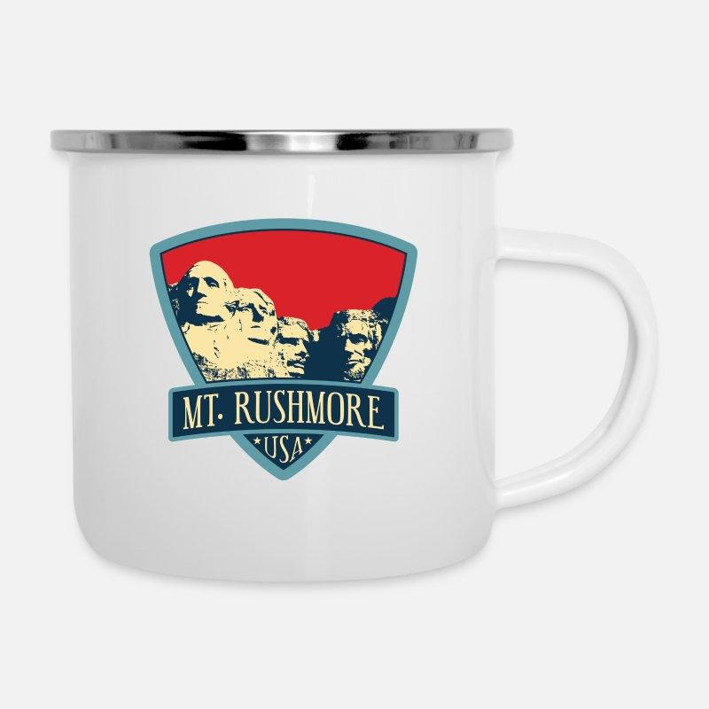 Tin Mug, Hiking Mug St George Day Mug Outdoor Mug St George Camping Mug