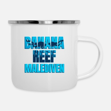 Date Of Birth Banana Reef Malediven - Enamel Mug