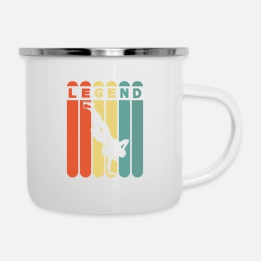 Hip Hop Breakdancing Legend - Enamel Mug