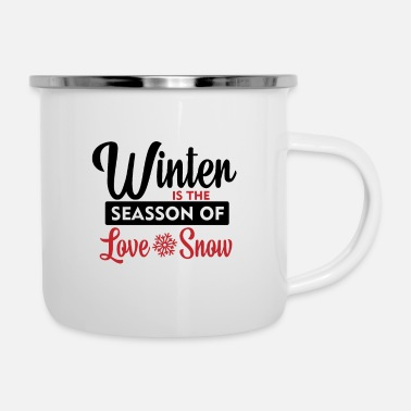Winter WINTER - Enamel Mug