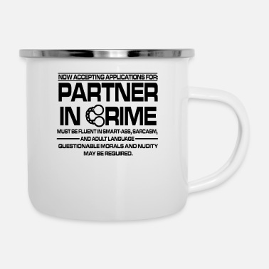 Sexy flirting partner love sarcasm fancy gift - Enamel Mug