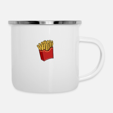 Snack French Fries Foodie Girls - Enamel Mug