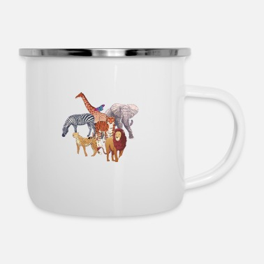 Fashion Future Zoologist Funny Birthday Animal - Enamel Mug
