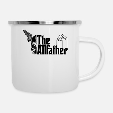 Celte Vikings - Odin The Allfather Valknut Movie Fan - Enamel Mug