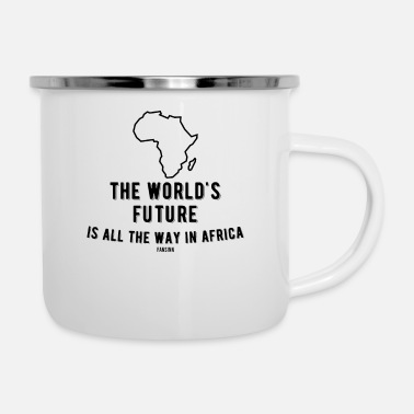 World African safari vacation wilderness Gift - Enamel Mug