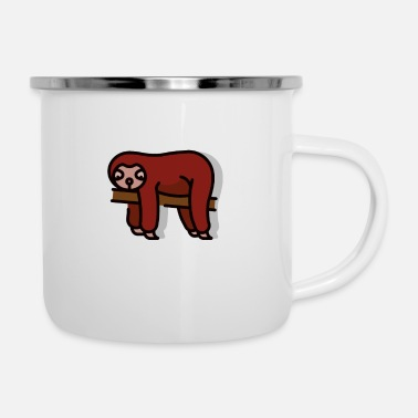 Sloth Cute Sloth Sloth lover sloths - Enamel Mug