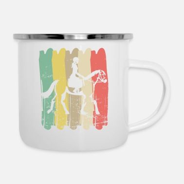 Pony Love riding - Enamel Mug