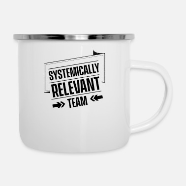 Occupation Essential Employee - Enamel Mug