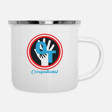 Occupation Occupational occupational therapy Simple design - Enamel Mug