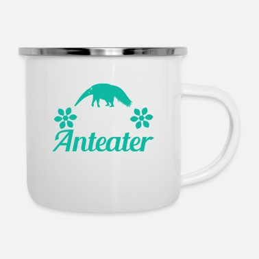 South America Anteater - Always Be Yourself - Enamel Mug