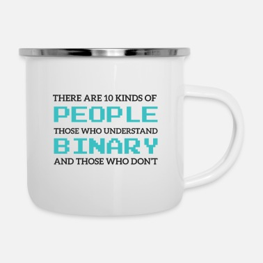 Periodic Table There Are 10 Kinds Of People ... - Enamel Mug