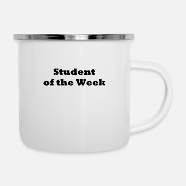Week Student of the Week - Enamel Mug