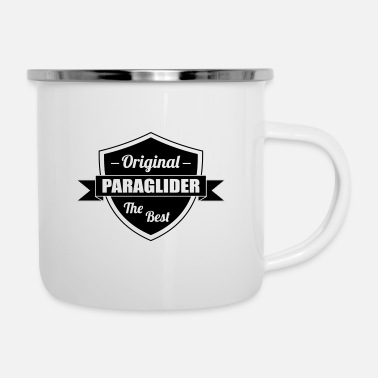 Cool The best Paraglider - Enamel Mug