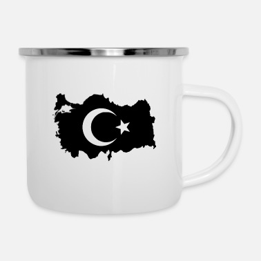 Türkiye Turkey Land Design - Enamel Mug