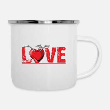 14th February Love - Enamel Mug