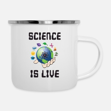 Motion Science is life - Enamel Mug
