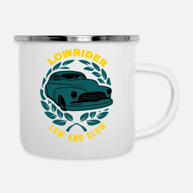 B Day Lowrider Low And Slow Geschenk - Camper Mug