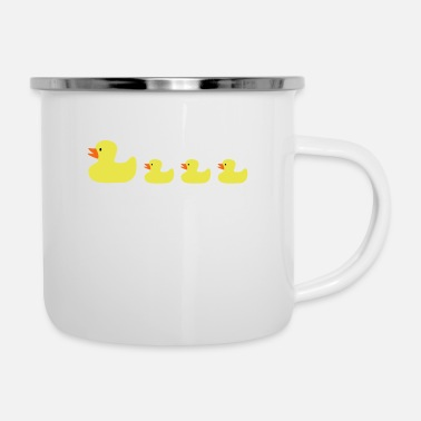 Rubber Duck rubber ducks - Enamel Mug