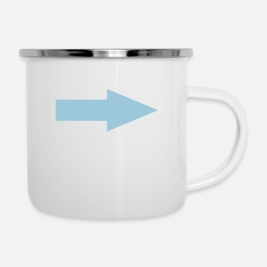 Arrow arrow - Enamel Mug
