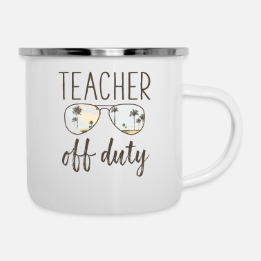83ee94d86a6 Funny Teacher Gift - Off Duty Sunglasses Last Day Pillowcase 32'' x ...