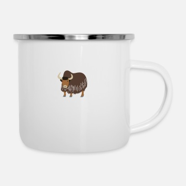 Big A heart for yak - Camper Mug
