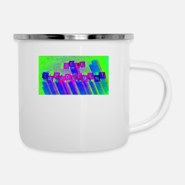 Self Improvement Self Improvement - Enamel Mug