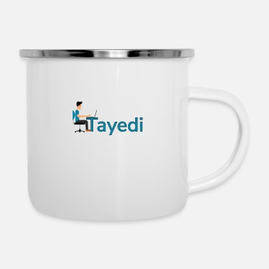 Tayedi the make money online search engine - Enamel Mug