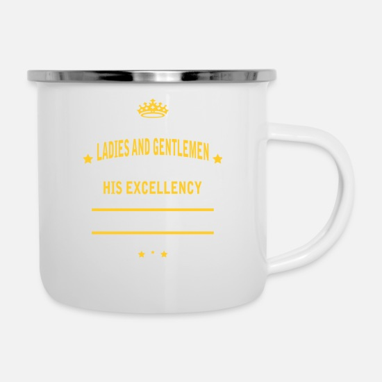 Birthday Mugs & Drinkware - PRODUCT EXAMINER - Enamel Mug white