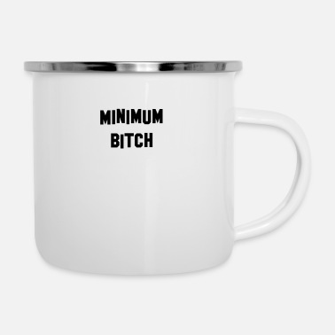 Minimum Minimum Black - Enamel Mug