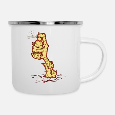 Sprayer Zombie sprayer - Enamel Mug