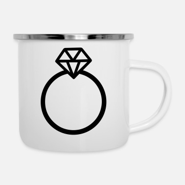 Marriage marriage - Enamel Mug