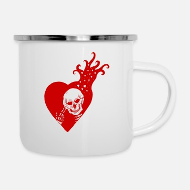 Love VDay RED - Enamel Mug