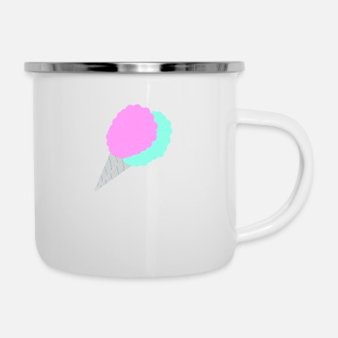 Cotton Cotton Candy - Enamel Mug